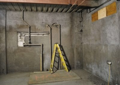 shotcrete basement restabilization
