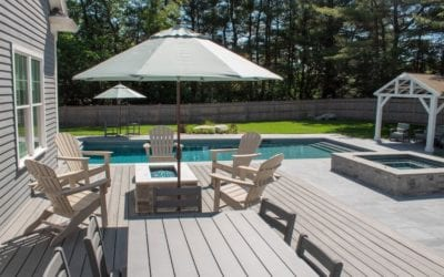 The Horvath's – Lexington MA Pool