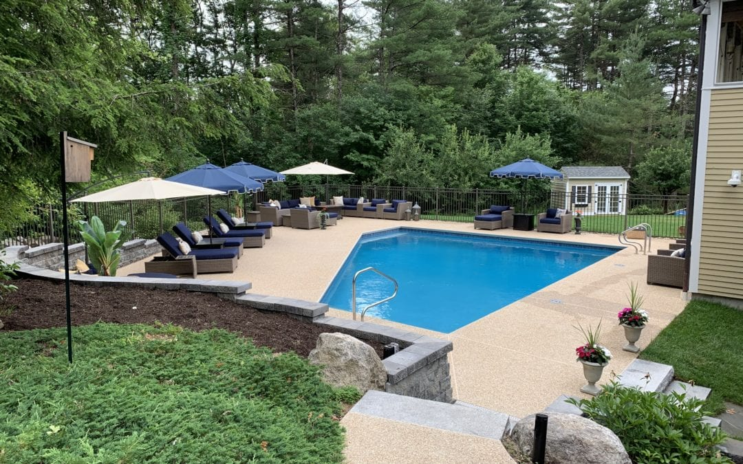 The Vikstrom's – Bedford New Hampshire Pool