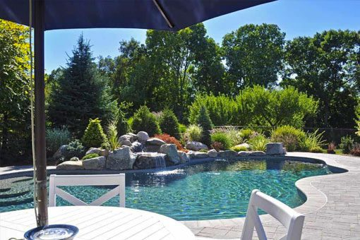 New England swimming pool renovations and remodels.